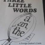 冠詞についてのおすすめのワークブック(インスタ)